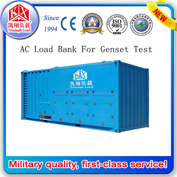 2000kw 3 Phase Programmable Load Bank for Generator Test