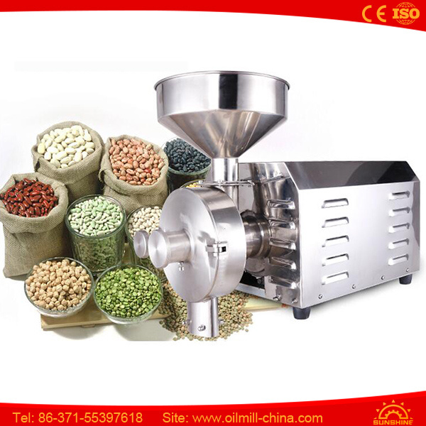 Dry Leaf Coffee Bean Nut Rice Spice Herb Grinder Machine