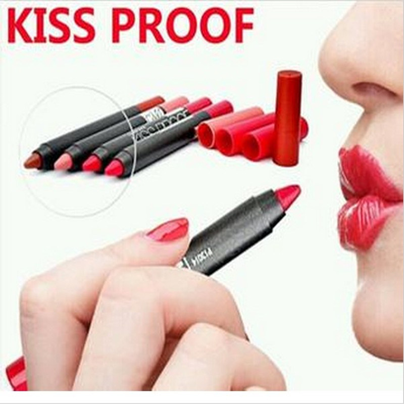Menow Kiss Proof Soft Lipstick Popular Cosmetics Lip Stick Pen 19 Color