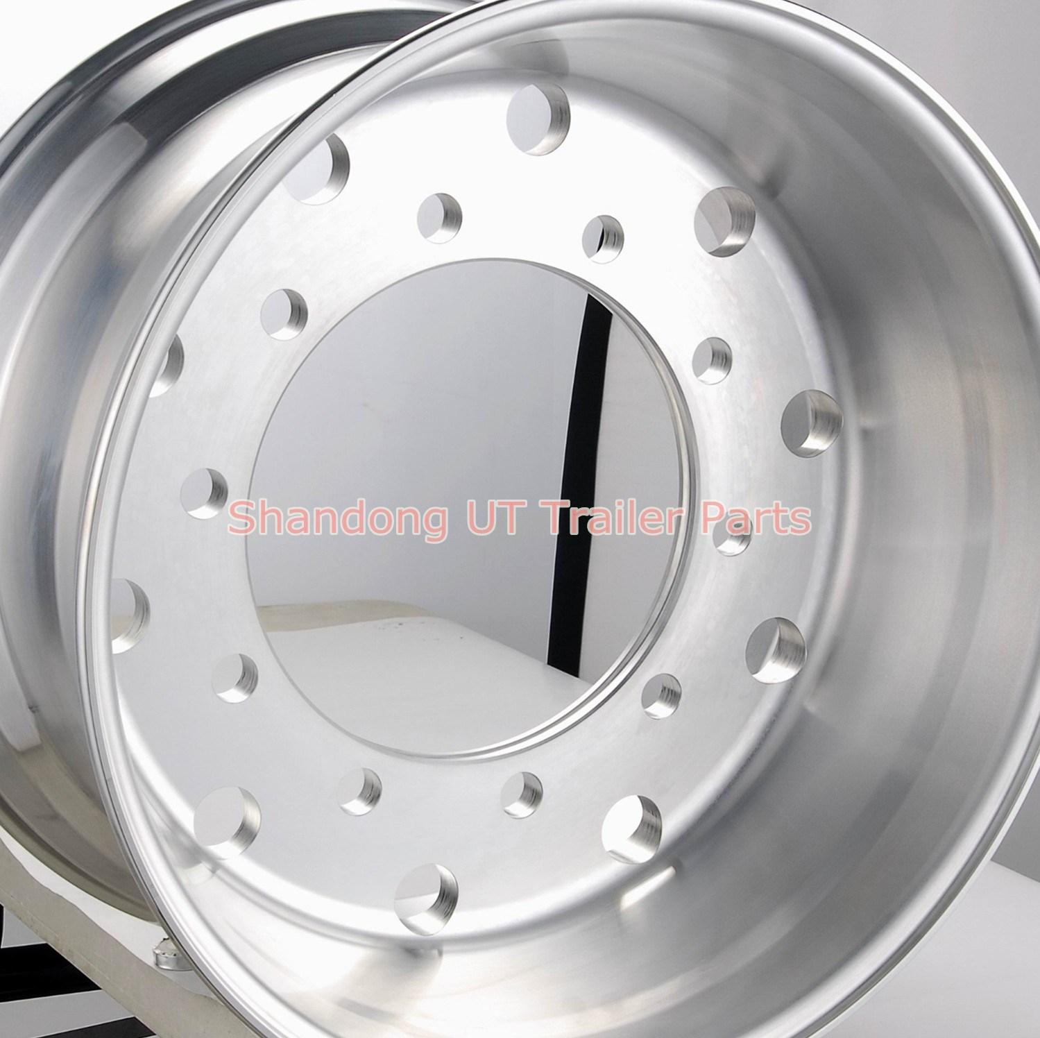 Steel Material Truck Trailer Tube Wheel Rims