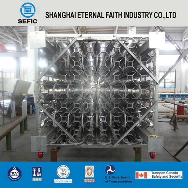 Lar/Lin/Lox High Pressure Ambient Air Vaporizer Liquid Gas Vaporizer