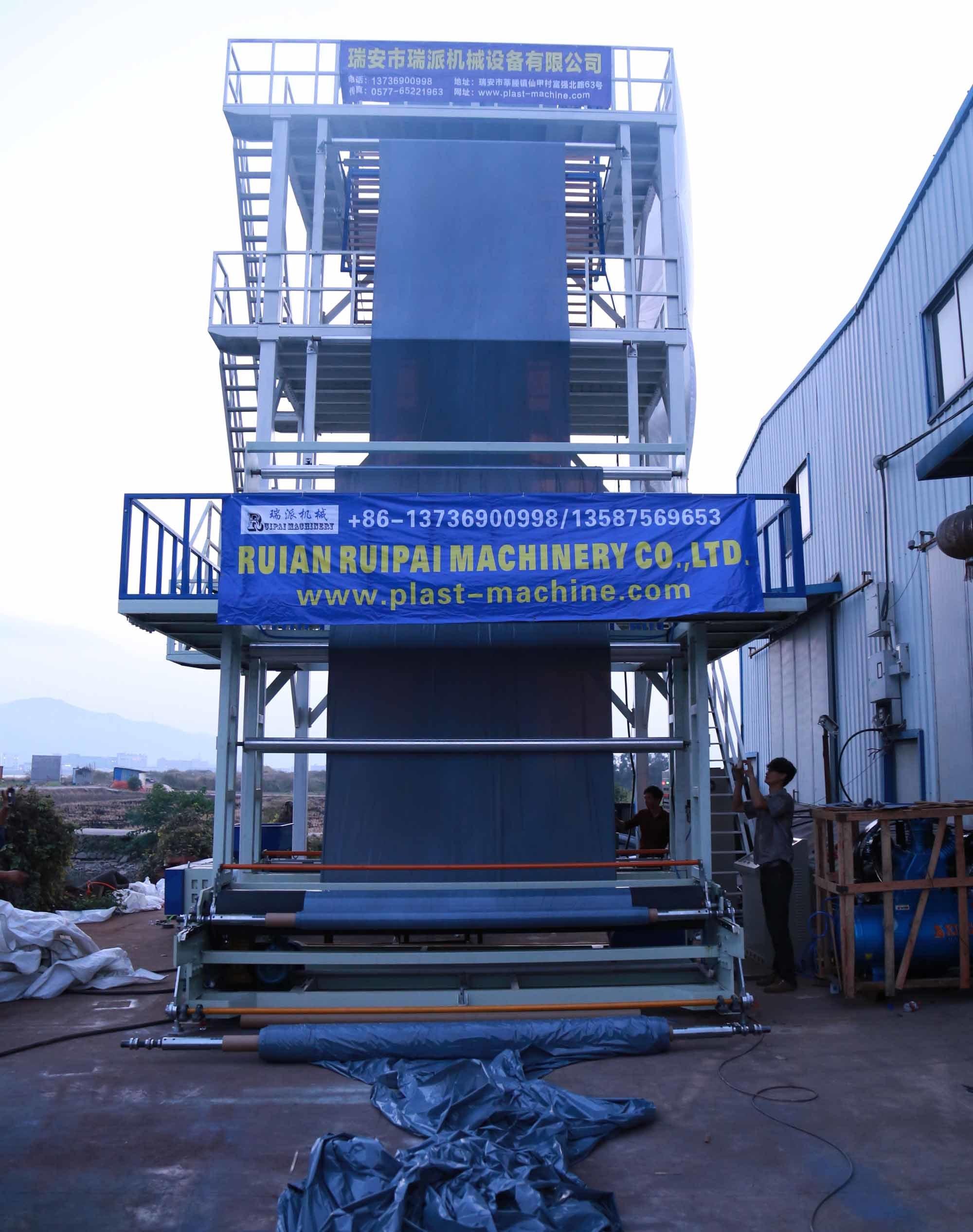 Best Quality High Speed Three Layer Co-Extrusion Film Extruder Machine