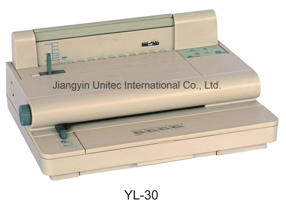 Electric Book Binding Machine Velo Binder Yl-30