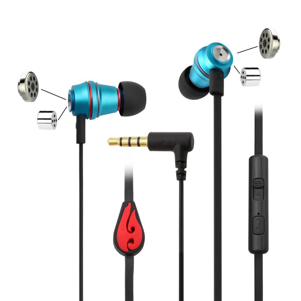 Newest Arrival Noise Cancelling HiFi in-Ear Universal Sport Earphone