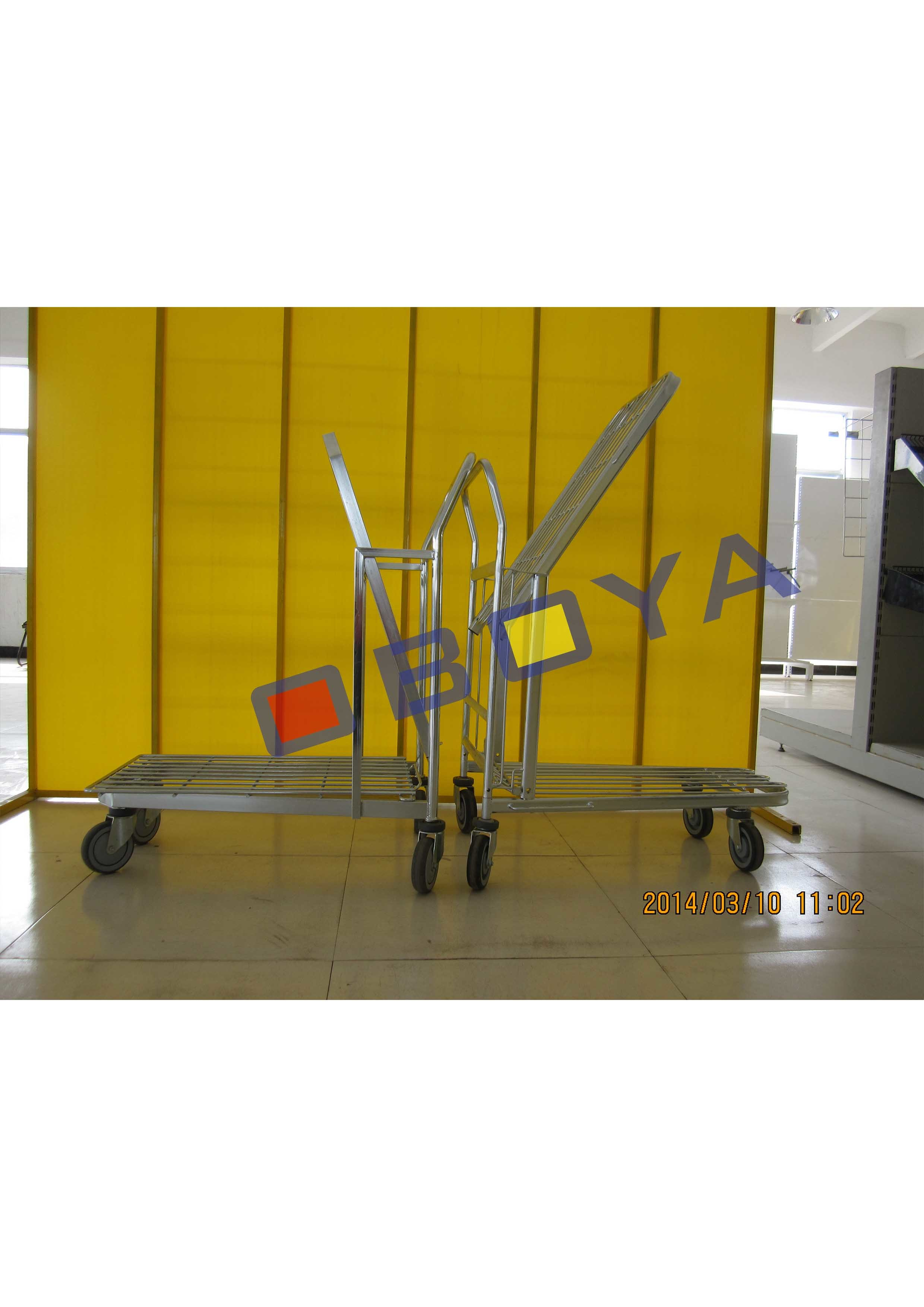 Logistic Metal Trolley for Goods Transportation