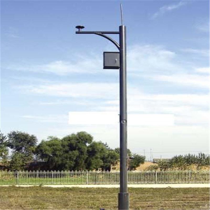 China Road Street Light Pole Price Camera Pole Hinged