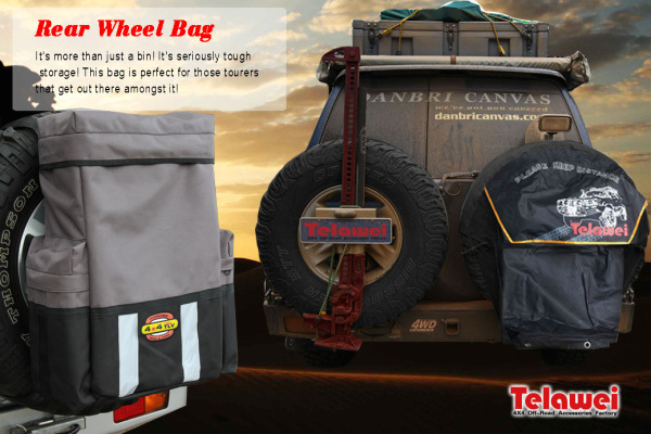 Polyester Material Rear Tyre Bag for The Car