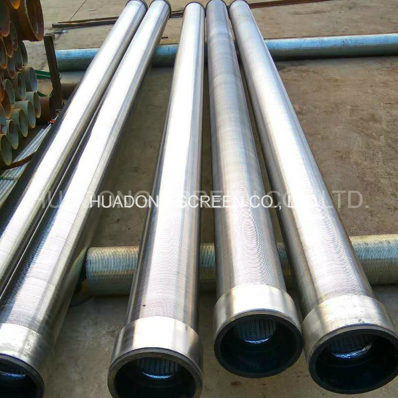 Johnson Screen Stainless steel Wedge Wire Filter Pipe