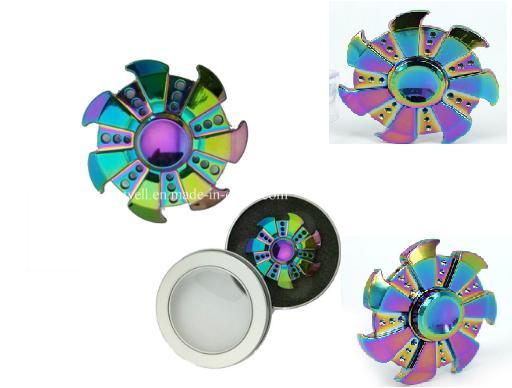 2017 Quality Fidget Manufacture Colorful Fidget Spinner Factory