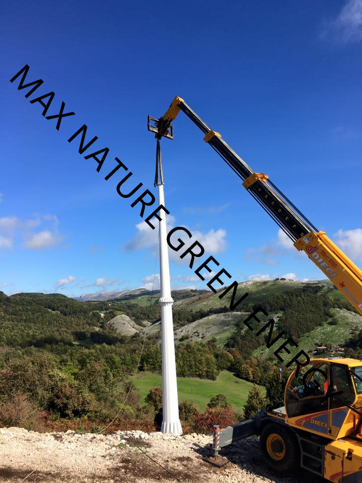10kw Wind Turbine Generator for Factories, Farm, Distributors, Installers