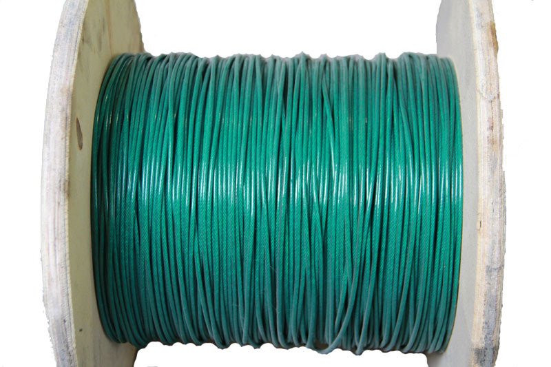 PVC Coated Steel Wire Rope 6X7+FC