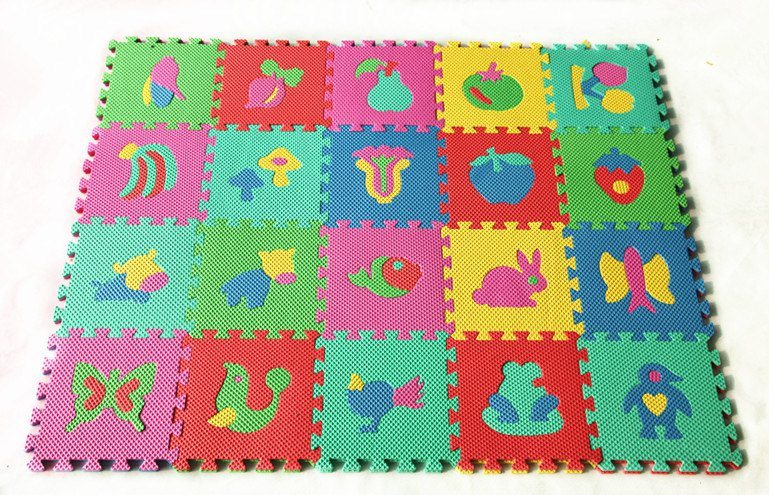 EVA Material and Sports Toy, Soft Toy, Educational Toy Style Animal Play Mats