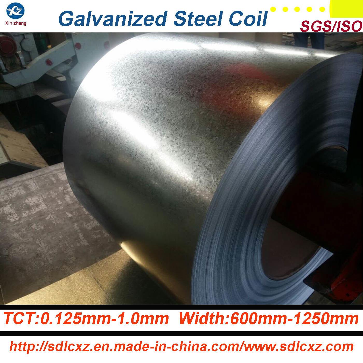 Gi-Galvanized Steel/ Z150g Galvanized Steel Coil/ PPGI Galvanized Steel Sheet