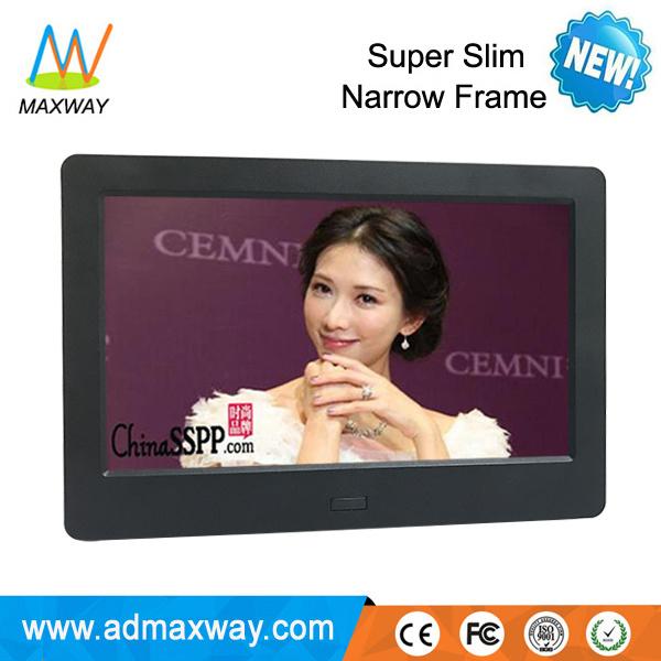 2017 New Design Slim LCD 7 Inch Digital Photo Picture Frame (MW-077DPF)