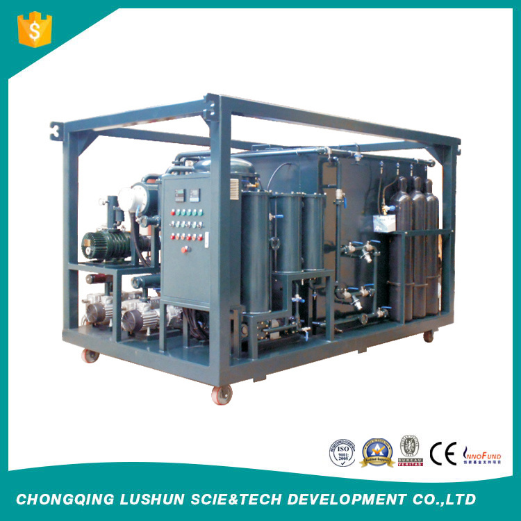 Lushun Double Stage High Vacuum Waste Transformer Oil Purifier and Used Oil Regeneration Machine