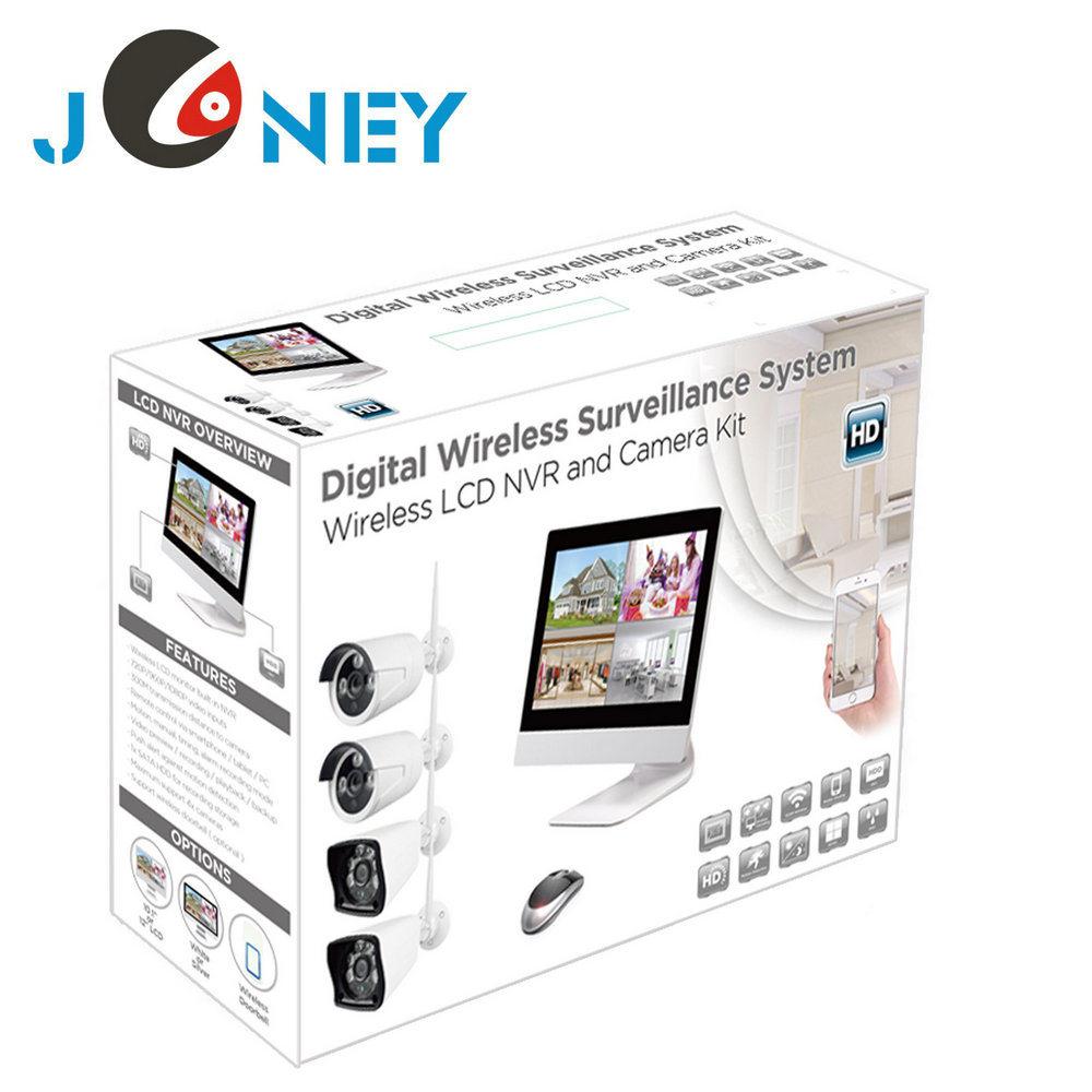 New 4 Channel HD NVR Kit 960p Bullet IP Camera Wireless CCTV System