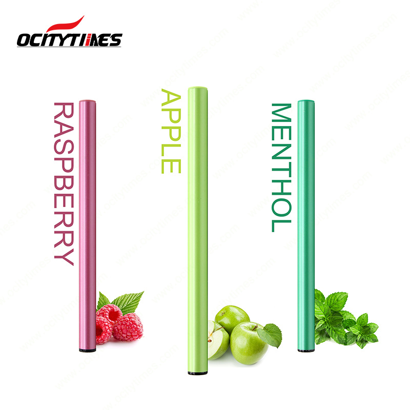 Ocitytimes 500puffs Electronic Cigarette Disposable Vaporizer E Shisha