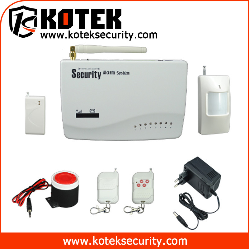 Wireless alarm system home security wireless alarm system for Self security system