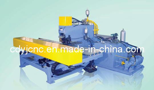 Medium Thick CNC Plate Punching Machine