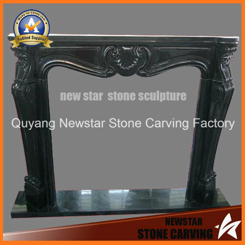 Stone Fireplace Mantel Granite Fireplace Surround