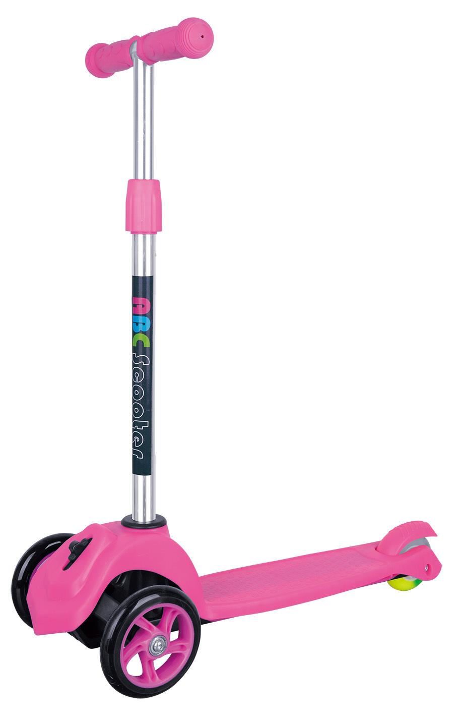 Tri-Wheel Adjustable Kick Scooter (GS-002D11)