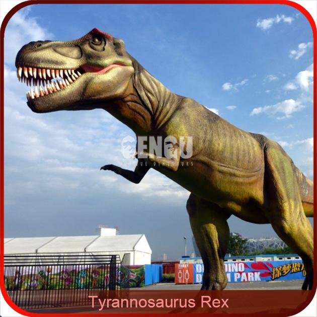 Amusement Park Life Size Animatronic Dinosaur for Sale