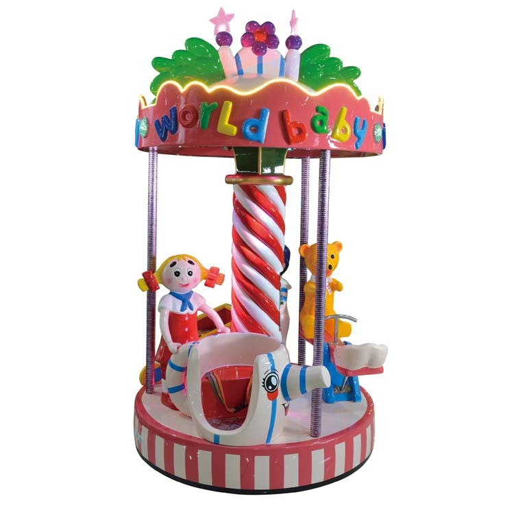 2016 Top Hot Sale! ! ! Playground Equipment Toy Kiddy Carousel for Children Amusement (D008)