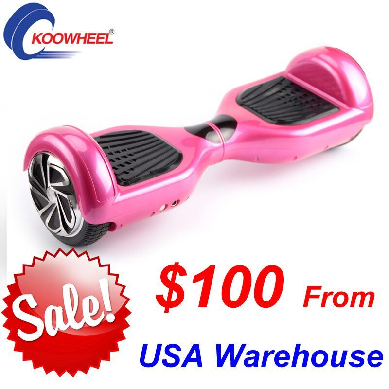 2 Wheels Skateboard Mini Electric Self Balance Scooter 6.5inch Hoverboard
