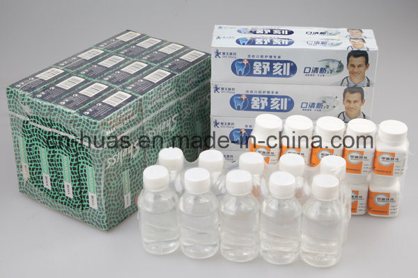 Automatic Bottle Shrink Wrap Machine (cuff type)
