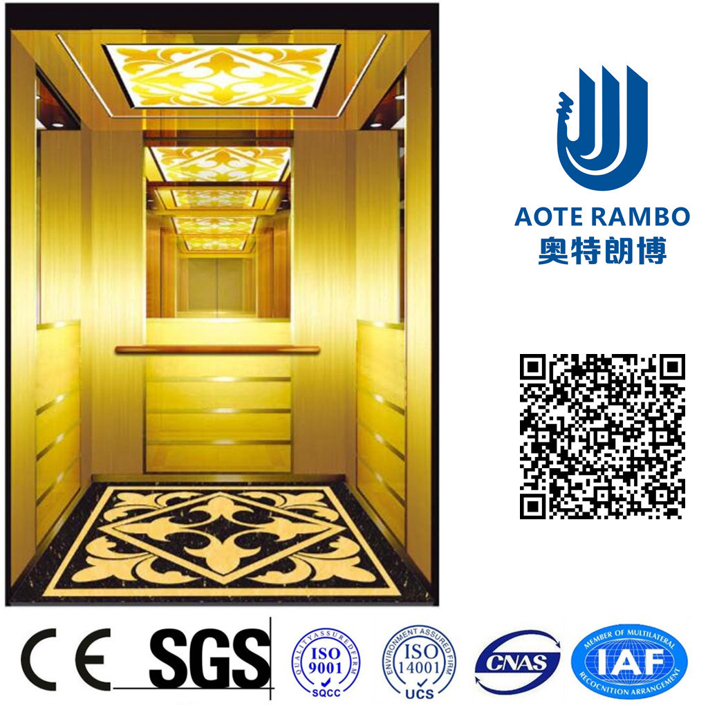 AC-Vvvf Drive Passenger Elevator with German Technology (RLS-255)