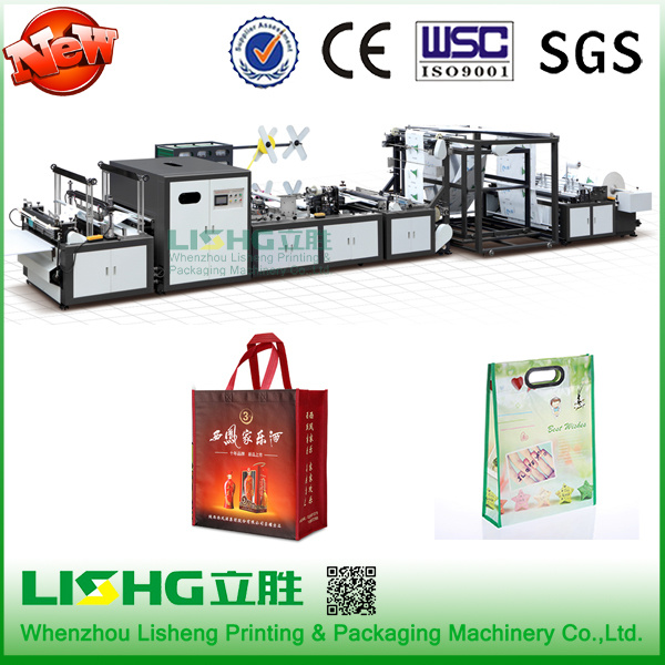 Automatic Nonwoven Fabric Bag Making Machine