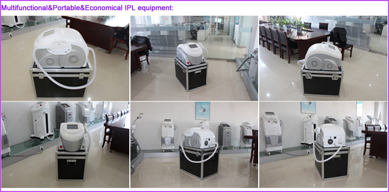 Portable Skin Rejuvenation Equipment E-Light (IPL+RF)