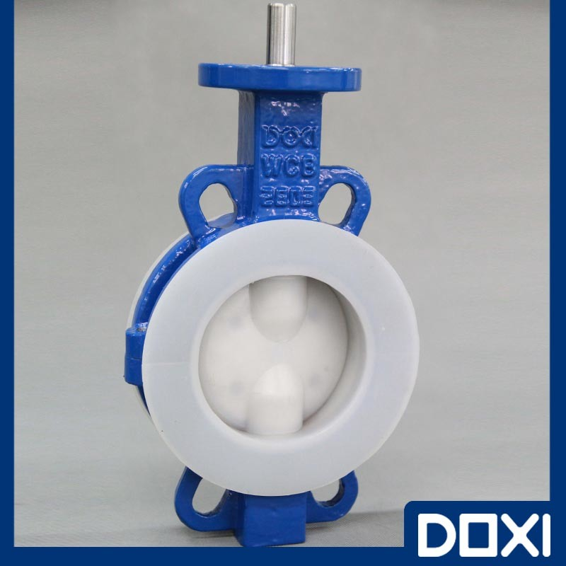 Chemical Wafer Type PFA Butterfly Valve