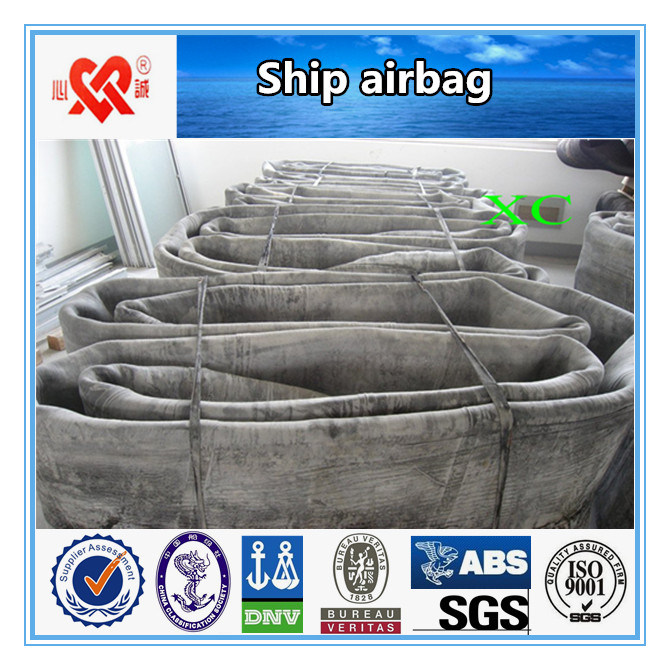 Marine Airbags for Ship Launching
