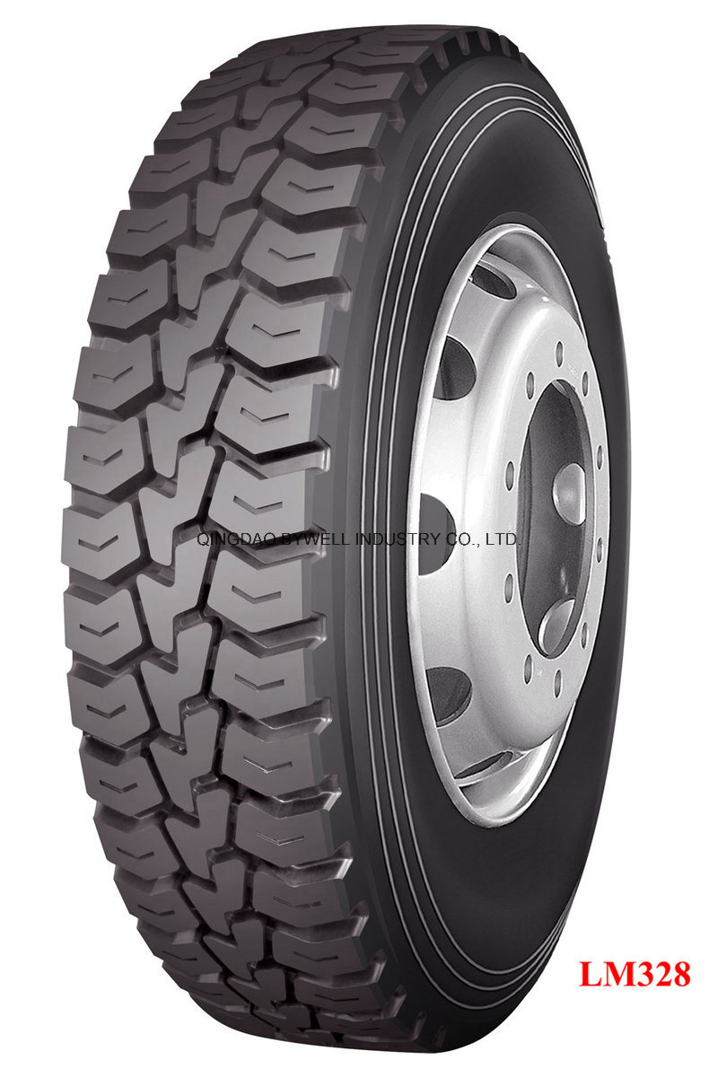 Oil Field Use Truck Tires with Dive and off Road Pattern (1200R24, 1200R20, 1100R20, 1100R22)