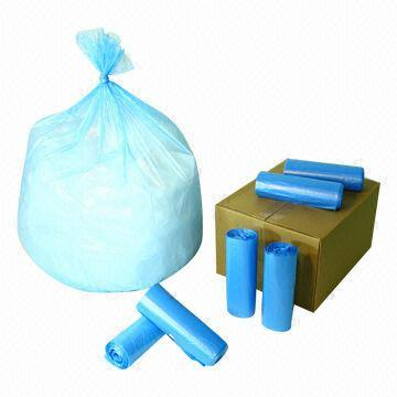 Plastic Garbage and Rubblish Bag on Roll