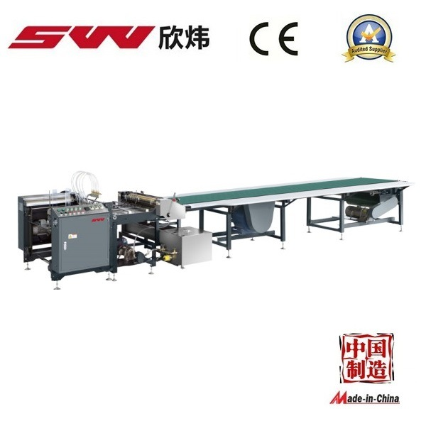 Hardcover Box Paper Automatic Gluing Machine