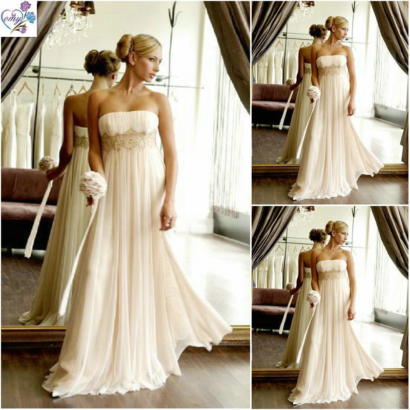 Simple Chiffon Wedding Dresses