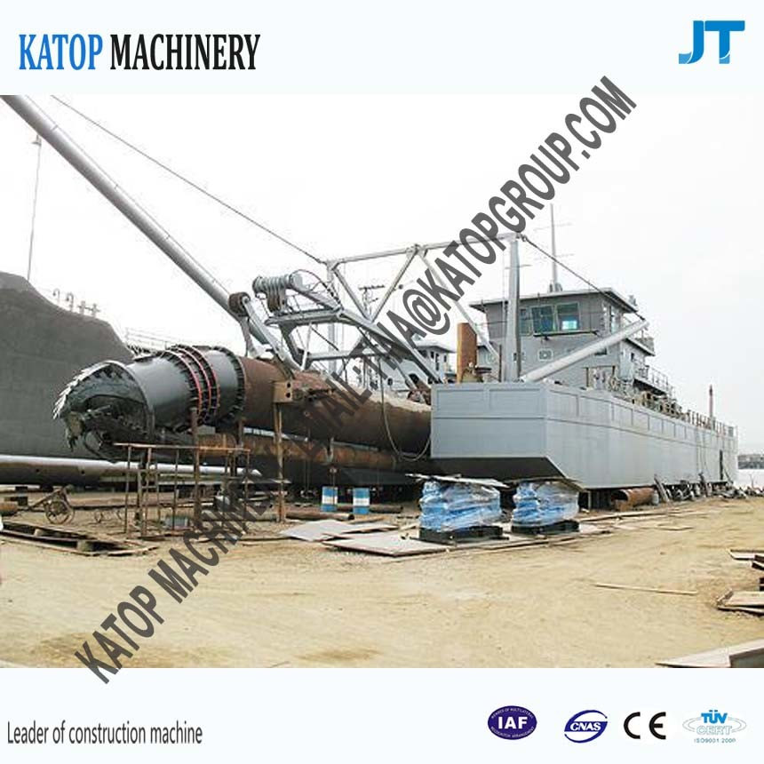 12 Inch Cutter Suction Dredger for River Dredging