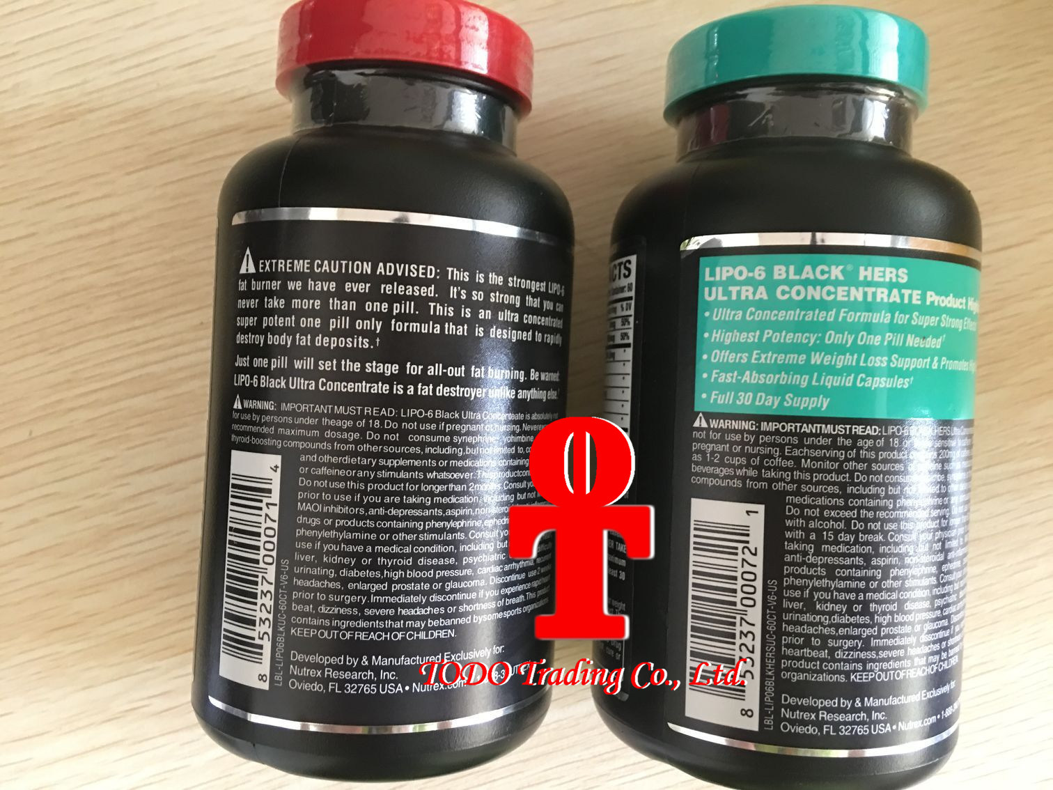 OEM/Nutrex Research Labs Lipo 6 Black Ultra Concentrate 60 Black Capsule Sports Energy