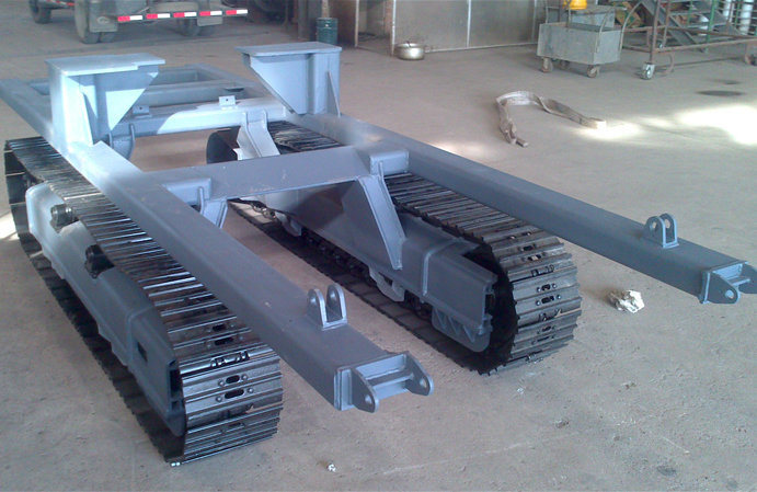 7 Tons Crawler Chassis for Agricultural Machinery
