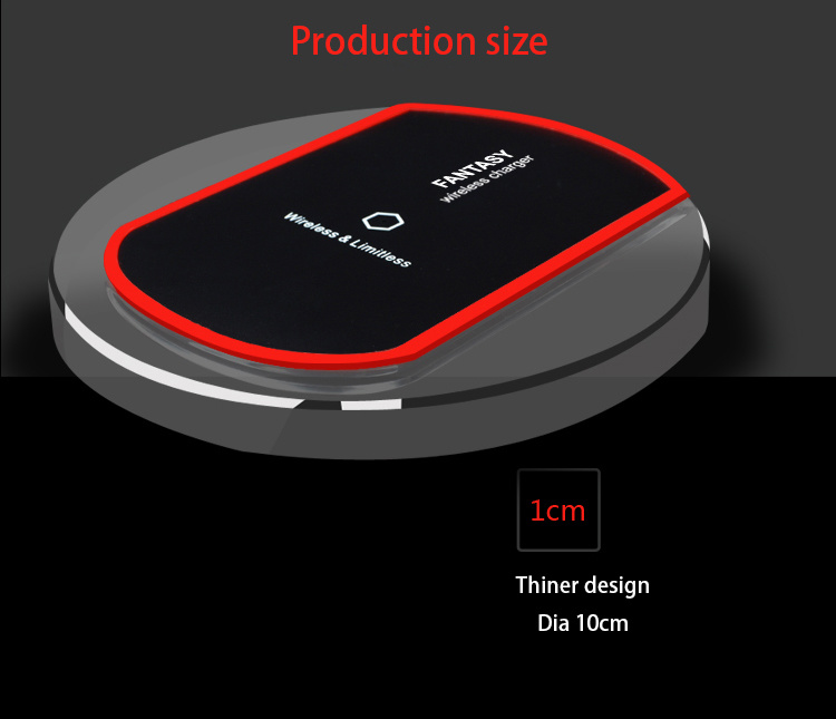 Portable Wireless Charging Pad Station Wireless Charger