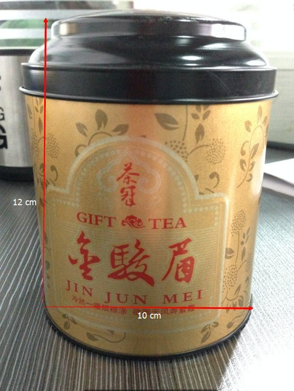 Round Tin Tea Packaging Box&Tea Tin Can