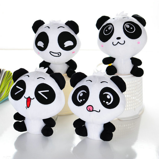 Promotion Gift Plush Stuffed Animal Toy Fluffy Panda Soft Toy