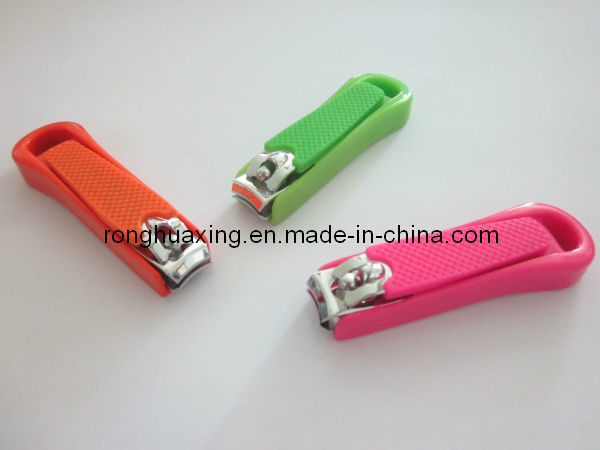 Nail Clipper with Silicon Cover (N-608S-4-2)