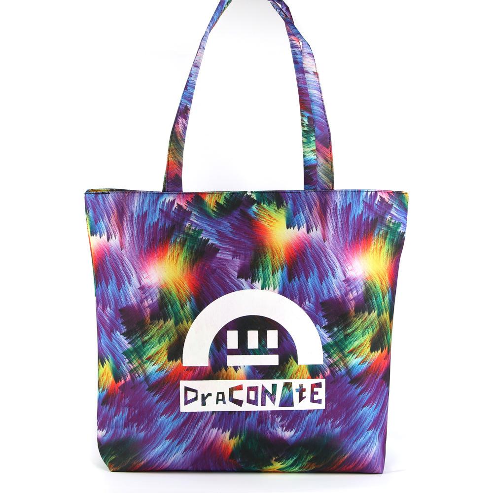 New Fashion Bag Handbag Shoulder Bag Leisure Casual Beach Student Travel Bag Waterproof Bag Flower Bag GS022503-2