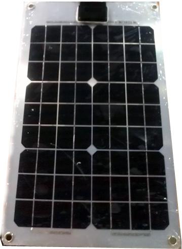 110wp on Boat Aluminum Flexible Solar Panel