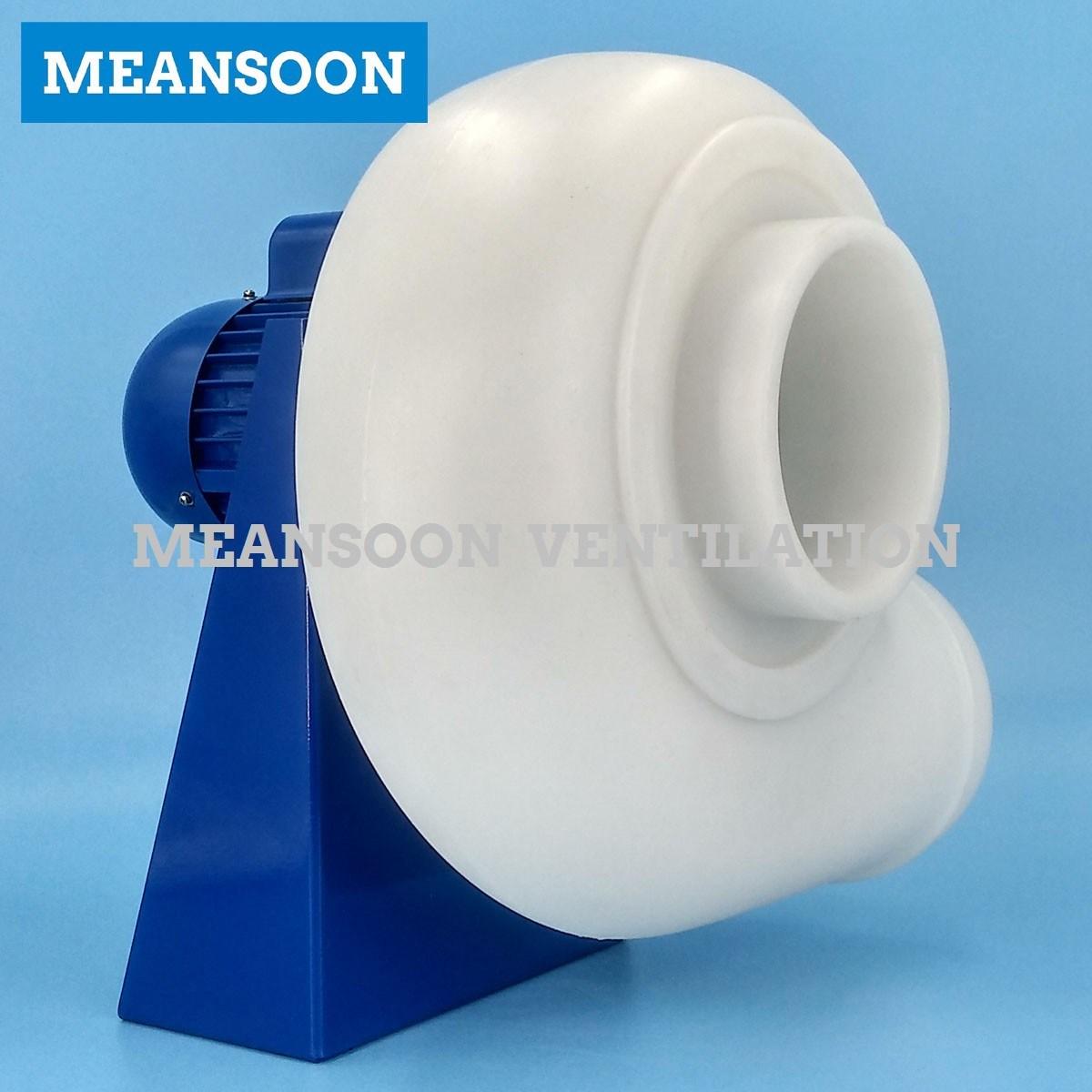 Plastic PP Anti Corrosive Centrifugal Blower for Fume Hood