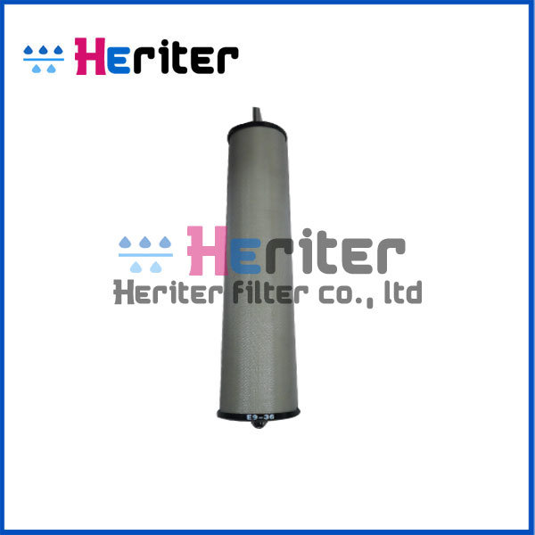 Replacement Compressed Air Filter Element Hankison Filter E9-36