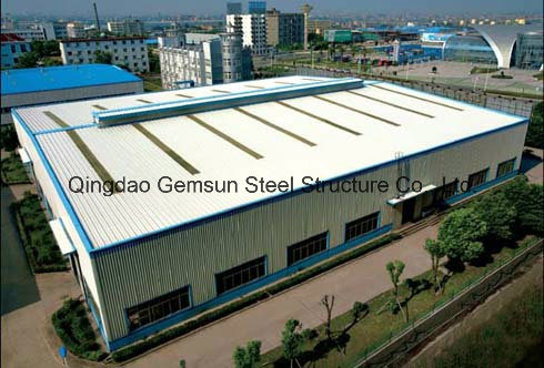 Easy Assemble Workshop/ Warehouse Steel Structure with Sandwich Panel SL-0090